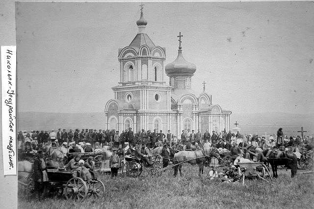 Никольск-Уссурийское кладбищенская церковь