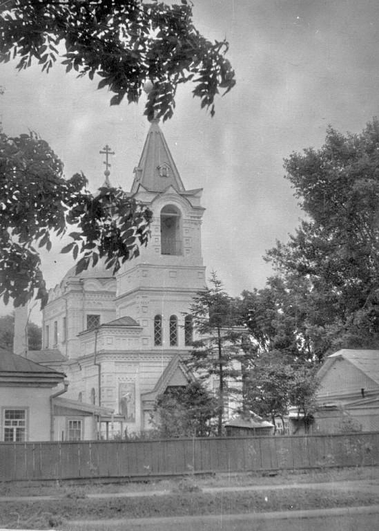 Старый Покровский храм (фото сторой половины XX в.)