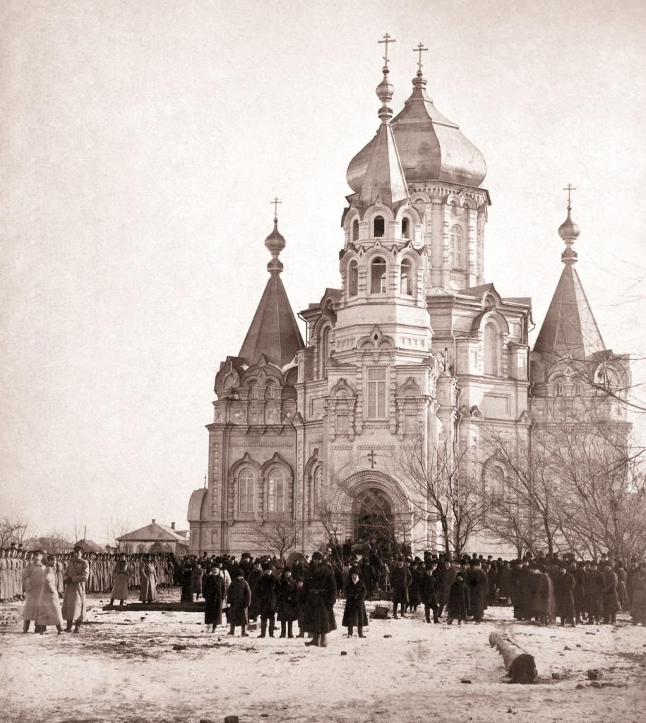 8 -Храм Святого Николая на 2 тысячи прихожан 14 января 1901г