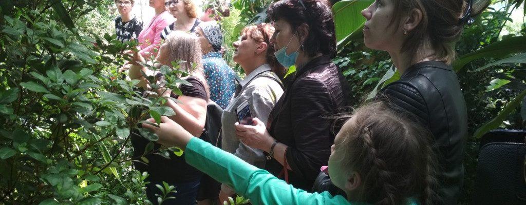 Состоялась экскурсионная поездка «Библейская ботаника» во Владивостокский Ботанический сад.